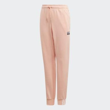 Pantalón - Tiro Medio Rosa Niño Originals