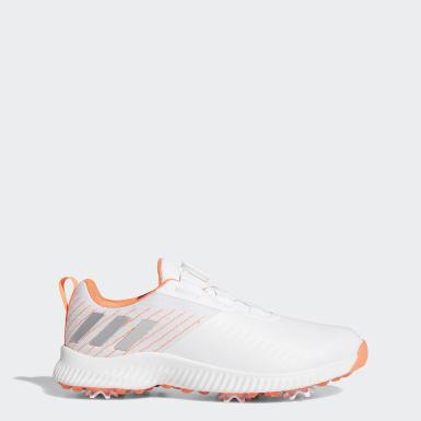 Women Golf Orange Response Bounce Boa 2.0 Shoes