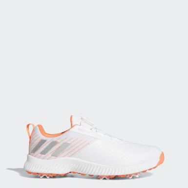 Women Golf Orange Response Bounce Boa 2.0 Shoes