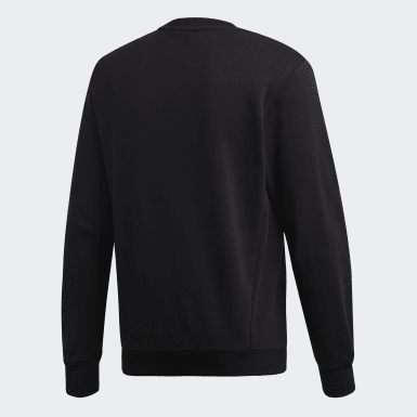 Sweat-shirt Must Haves Badge of Sport Crew Noir Hommes Athletics