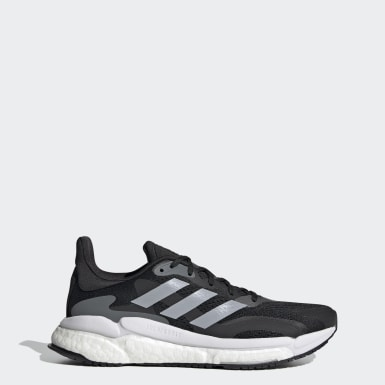 Women Running Black SolarBoost 3 Shoes