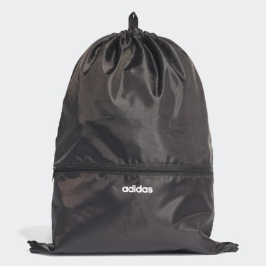 Lifestyle Black 3-Stripes Gym Sack
