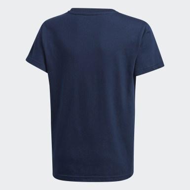 เด็ก Originals สีน้ำเงิน เสื้อยืด