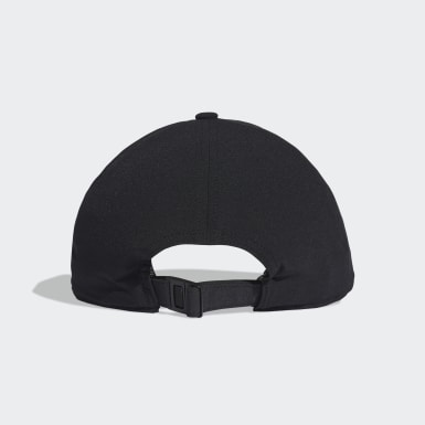Training Black C40 3-Stripes Climalite Cap