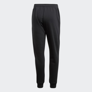 Men Training Black Core 18 Sweat Tracksuit Bottoms