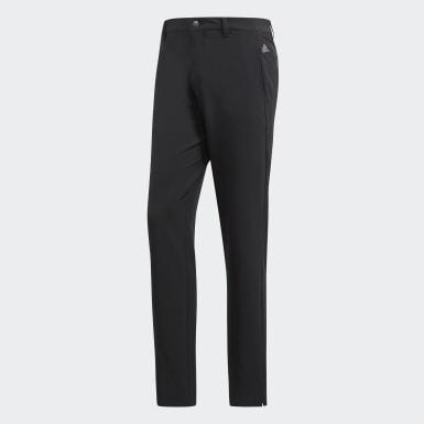 Muži Golf černá Kalhoty Ultimate 365 3-Stripes Tapered