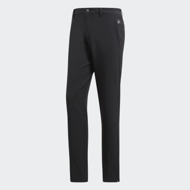 Men Golf Black Ultimate 365 3-Stripes Tapered Pants