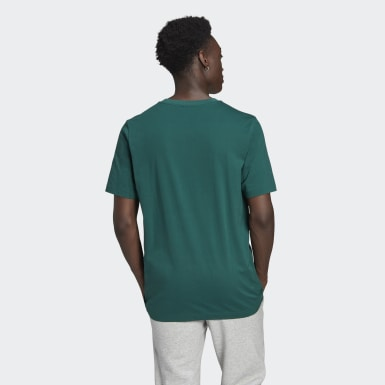 Men Originals Green Crest Tee