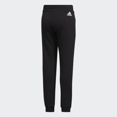 Girls Training Black Knit Pants