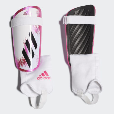 X 20 Match Shin Guards Bialy