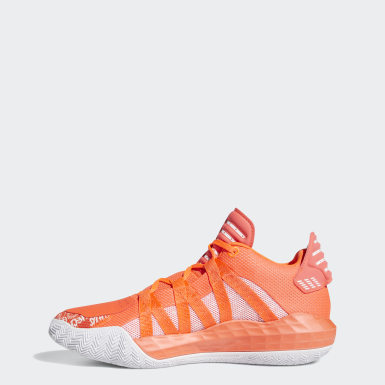 Basketball Dame 6 Schuh Orange