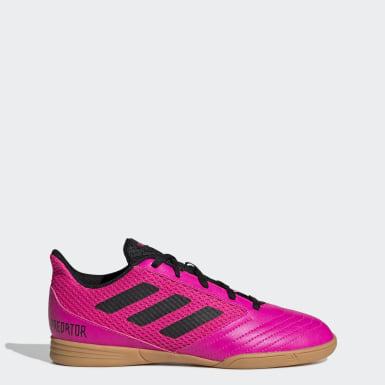 Boys Football Pink Predator 19.4 Sala Boots