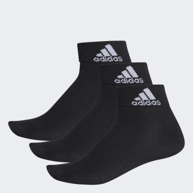 Calcetines tobilleros finos Performance Negro Training