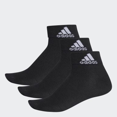 Socquettes fines Performance (3 paires) Noir Training