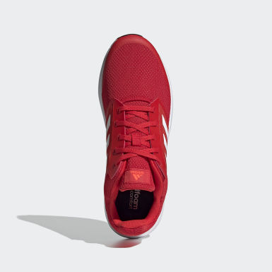 Men Running Red Galaxy 5 Shoes