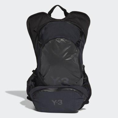 Y-3 Sort Y-3 CH1 Reflective rygsæk