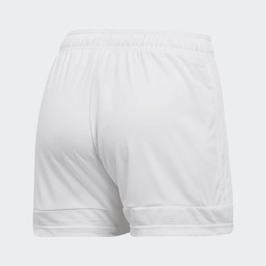 Women Soccer White Tastigo 19 Shorts