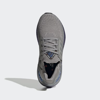 Chaussure Ultraboost 20 gris Adolescents Course