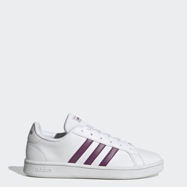 Women's Essentials White Grand Court Base Shoes
