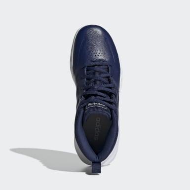 Kinderen Basketbal blauw Own the Game Wide Schoenen