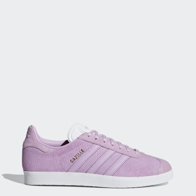 Women Originals Purple Gazelle Shoes