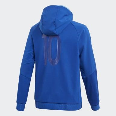 синий Толстовка Messi Full-Zip