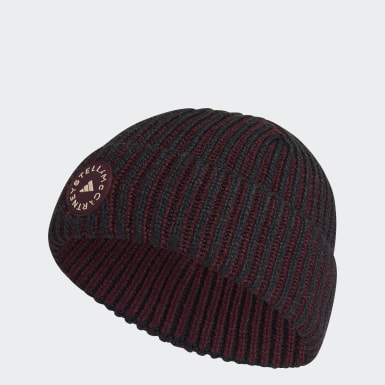 Dames adidas by Stella McCartney Zwart adidas by Stella McCartney Beanie