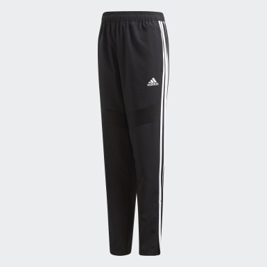 Youth 8-16 Years Training Black Tiro 19 Woven Tracksuit Bottoms