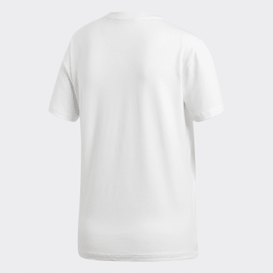 T-shirt Trefoil Bianco Donna Originals