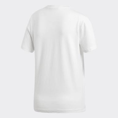 Ženy Originals biela Tričko Trefoil
