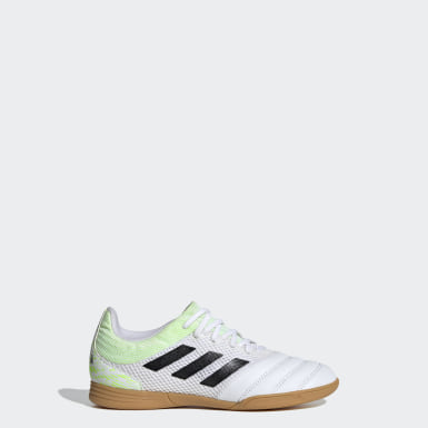 Children Futsal White Copa 20.3 Sala Indoor Shoes