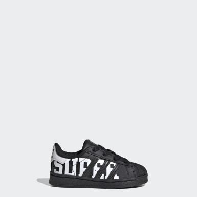 Chaussure Superstar Noir Enfants Originals