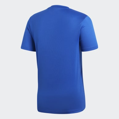 Heren Training Blauw Core 18 Trainingsshirt