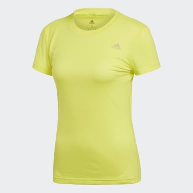 Women Training Yellow FreeLift Prime Tee