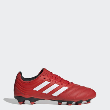 Botas de Futebol Copa 20.3 – Multissuperfície Vermelho Futebol