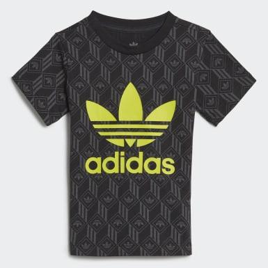 Bebek Originals Black Trefoil Tişört