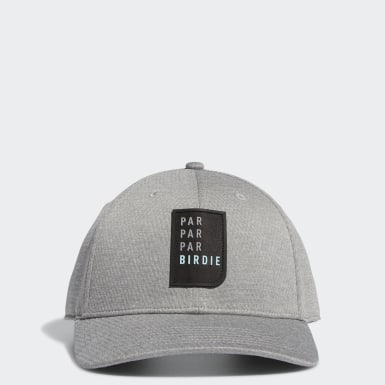 Men Golf Grey Par Par Par Birdie Snapback Hat