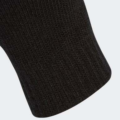Training Zwart Tiro Handschoenen