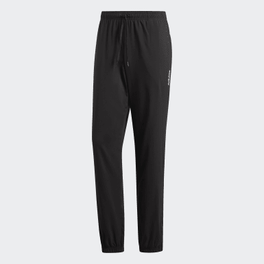 Heren Training Zwart Essentials Plain Stanford Broek