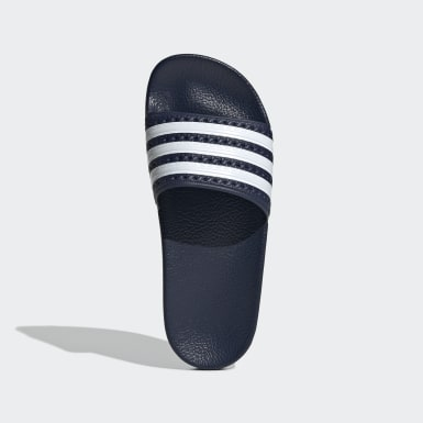 Youth Originals Blue adilette Slides