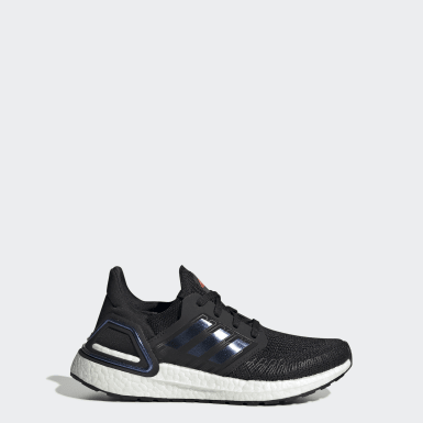 Youth 8-16 Years Running Black Ultraboost 20 Shoes
