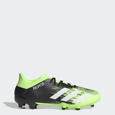 Men Football Green Predator Mutator 20.3 Low Firm Ground Boots