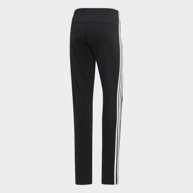 Women's Essentials Black Essentials Tricot Open Hem Pants