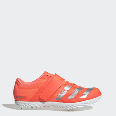оранжевый Шиповки для легкой атлетики adizero HJ