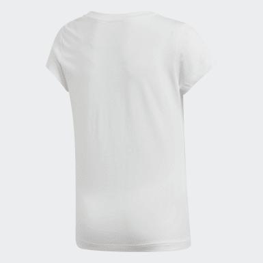 Genç Training Beyaz Essentials Linear Tişört