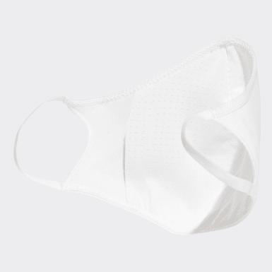 Conjunto de 3 Coberturas para Rosto – Tamanho XS/S Branco Lifestyle