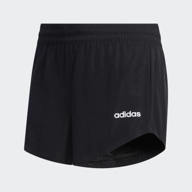 Pantalón corto Negro Niña Yoga