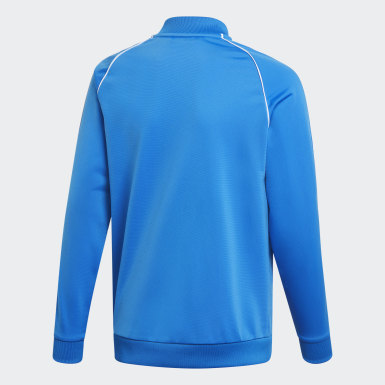 Deti Originals modrá Tepláková bunda SST