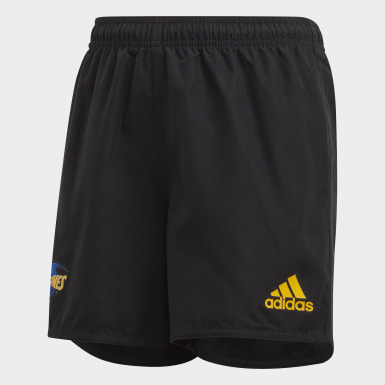 Boys Rugby Black Hurricanes Home Supporters Shorts