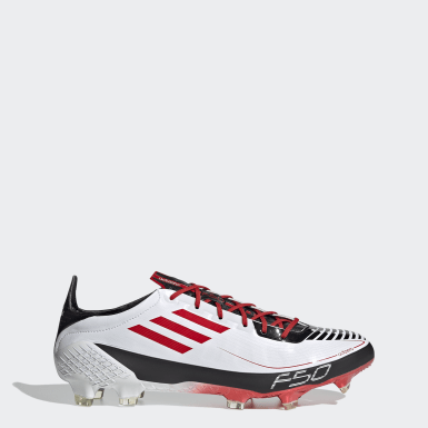 Men Football White F50 Ghosted Adizero Prime Firm Ground Boots